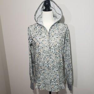 Lululemon Lightened Up pullover jacket size 8